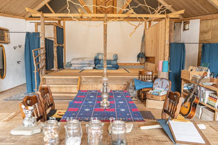 タイマーの宿の客室