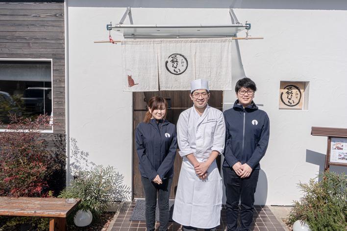 いとう養鶏場のスタッフと寺井さん