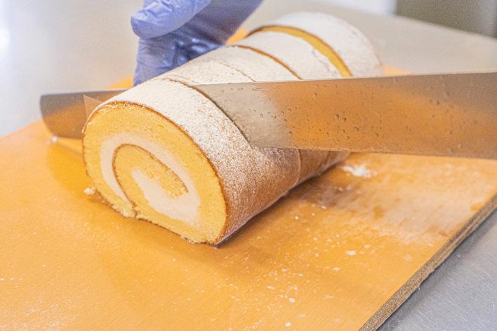 ララフィールのロールケーキ